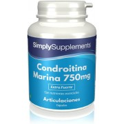 Simply Supplements Condroitina Marina 750mg - 180 Cápsulas