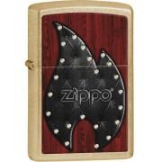Zapalovač ZIPPO 28139 Leather Flame