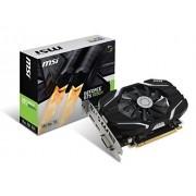 MSI Gaming GeForce GTX 1050 GB GDDR5 directx 12 grafische kaart (GTX 1050 2 G OC), zwart/zilver 4 gb