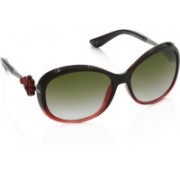 Vintage Over-sized Sunglasses(Green)