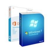 Microsoft Windows 7 Professional + Microsoft Office 2013 Home and Business (W7-O13-ESD) електронен сертификат