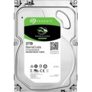 Seagate BarraCuda 3 TB Desktop, Surveillance Systems, All in One PC's, Servers Internal Hard Disk Drive (ST3000DM008)