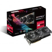 Paca video asus Radeon RX 580 GOR Strix 8GB GDDR5 OC (GOR-STRIX-RX580-O8G-GAMING)