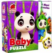 Puzzle Maxi Bebelusi Animale de la Zoo 13 piese RK1210-02 1 Roter Kafer