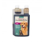 NaturVet Glucosamine DS with MSM & Chondroitin Hip & Joint Stage 2 Dog & Cat Supplement, 32-oz