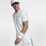 NikeCourt Kurzarm-Tennisoberteil für Herren - Weiß