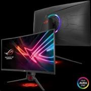 "ASUS ROG STRIX XG32VQ 32"" 144Hz WQHD 2560x1440 3000l:1 4ms 300cd, Aura RGB, DP, HDMI, mDP, USB čierny"