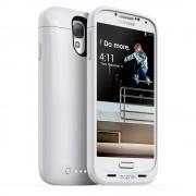 Mophie Samsung Galaxy S4 juice pack - Husa cu acumulator 2300mAh - alb