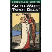 Smith-Waite Tarot Deck Borderless, Hardcover