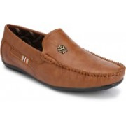 BB LAA Bright Loafers For Men(Tan)