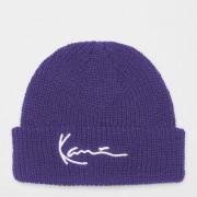 Karl Kani Signature Fisherman Beanie - Paars - Size: One Size; unisex