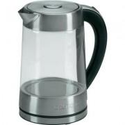 Vízforraló üveg tartállyal 2200 W üveg/rozsdamentes acél Clatronic 261675 (449235)