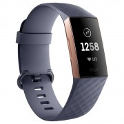 Fitbit Charge 3 Rose Gold/Blue Grey