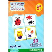 """Tingoking """"Let's Learn and Have Fun With Colours"""" Educational & Learning Puzzle Game For Kids"""