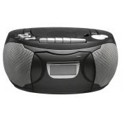 Denver Tragbarer CD Player mit Kassette, Radio und AUX-Eingang