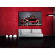 Tablou canvas retro car - cod F12