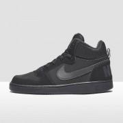 NIKE Court borough mid sneakers kids Kinderen - zwart - Size: 35 5