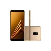 Smartphone Samsung Galaxy A8 Plus SM-A730F, Octa Core 2.2Ghz, Android 7.1, Tela 6´ Super AMOLED, 64GB, 16MP, 4G, Desbloqueado - Dourado