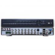 Registratore videosorveglianza HVR -Dvr Nvr-16 canali ibrido 400fps Hdmi Vga Lan