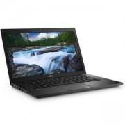 Лаптоп Dell Latitude E7480, Intel Core i7-7600U (2.80 GHz, 4M), 14.0 инча, N027L748014EMEA