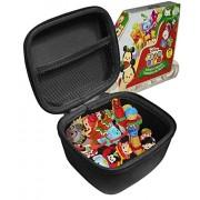 fitsand (tm) Carry Travel Zipper eva Hard case for Tsum Tsum Disney Countdown to Christmas Advent Calendar playset