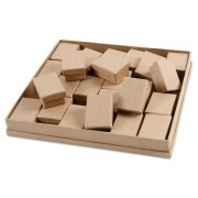 Betzold Adventskalender-Pappschachteln, 24 Stück