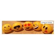 Light Up Emoji Rings (Box Of 24)