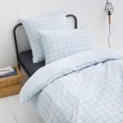 Am.pm Capa de edredon em algodão bio, PonlokAzul-bermudas/cinzento- 240 x 220 cm
