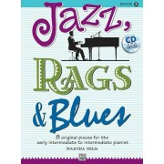 Jazz, Rags & Blues, Book 2: 8 Original Pieces for the Early Intermediate to Intermediate Pianist 'With CD (Audio)', Paperback