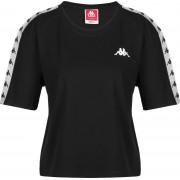 Kappa Eleni Damen T-Shirt schwarz