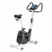 Capital Sports Durate Cardio Bike 4 kg monitor de ritm cardiac, argintiu (FIT17-Durate X77)