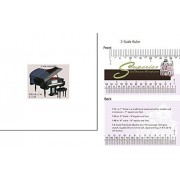 Dollhouse Miniature Large Grand Piano