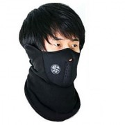 Black Color Anti Pollution Mask (Balaclava) For Summer