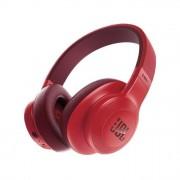 JBL E55BT Cuffie Circumaurali con Bluetooth, Ripiegabili con Microfono, Red Rosso