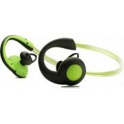 Casti Boompods Sportpods in-ear bluetooth illuminating head band sweat resistant Vision Green