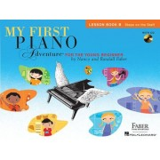 My First Piano Adventure, Lesson Book B: Steps on the Staff: For the Young Beginner [With CD (Audio)], Paperback