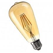 Lâmpada Filamento Carbono ST64 8W