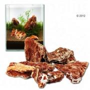 Rocas Samurái para acuarios - Set 60 cm: 9 rocas naturales, aprox. 6 kg