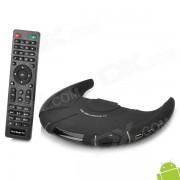 VS-ATV-106 UFO estilo dual-core Android 4.2 TV caja con 1 GB de RAM / 8 GB ROM / RJ45 / wi-fi / SD - negro