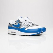 Nike Air Max 1 Print White/Game Royal-Neutral Grey