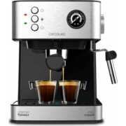 Cafetiera Express cu Brat Cecotec Power Espresso 20 Professionale 1 5 L Argintiu Negru