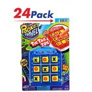 Jaru Tic Tac Toe By Ja-Ru| Road Trip Travel Games Pack Of 24 | Item #3256