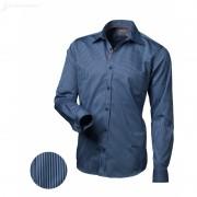 Pánská košile Victorio Modrá slim Victorio V136