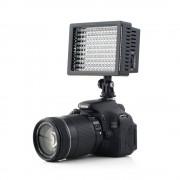 High Power Lightdow LD-160 160 LED Video Light Camera Camcorder Lamp met Drie Filters 5400 K