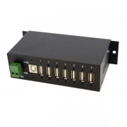 Startech 7-Port Industrial Usb 2.0 Hub With Esd & 350W Surge Prote