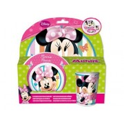 Set mic dejun melamina Minnie Mouse Disney