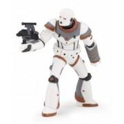 Figurina Papo Razboinic ironbot alb