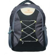 Good Friends 15.6 inch Expandable Laptop Backpack(Black)