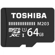 Toshiba 64GB M203 MicroSD Card Class 10 100 MB/S Memory Card