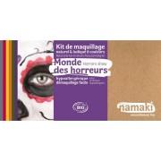 NAMAKI Kit maquillage bio 8 couleurs - Monde des horreurs